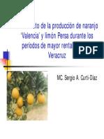 Incremento de La Producción de Naranja y LP Semana Citricultura
