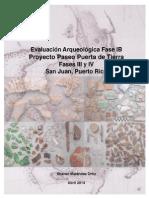 2014 04 28_PPT Fases III & IV_Estudio Arqueológico Fase IB