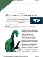 México, Democracia en Construcción, Enrique Krauze