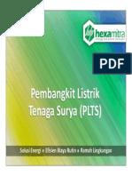 Presentasi Pembangkit Listrik Tenaga Surya (PLTS)