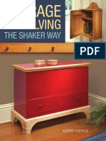 Storage & Shelving the Shaker Way
