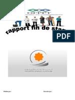 Rapport de Stage - Trésorerie Général Maroc - Présentaion (Initiation) 1