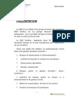 Rapport de Stage - BMCI - Présentation de La Banque (Initiation) 3