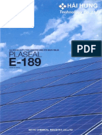 Catalogue Plaseal E-189
