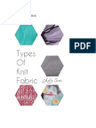Types of Knit Fabric