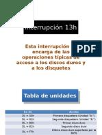 Interrupción 13h