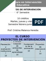 Campos de La Intervencion Educativa