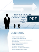 secretarialcommunicationok1-090408015508-phpapp02