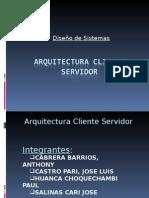 Arquitectura Cliente Servidor