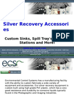ECS - Silver Recovery Accessories