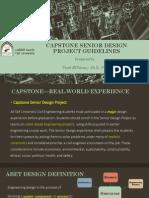 Capstone Senior Design Project Guidlines