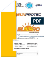 Emprendimiento Sunpro