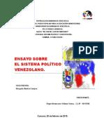 Ensayo Sistema Político Venezolano