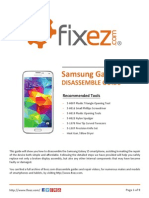 Samsung Galaxy S5 Disassemble Guide