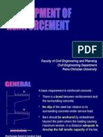 Development of Reinforcement