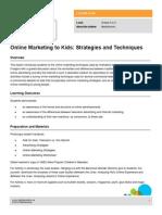 Lesson Online Marketing Kids Strategies Techniques