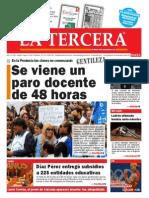 Diario La Tercera 24.02.2015