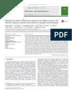 Mesoporouscarbonnitridebasedbiosensorforhighlysensitiveand selectiveanalysisofphenolandcatecholincompostbioremediation