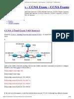 CCNA 2 Final Exam V4