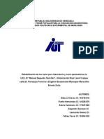 """Rehabilitación de Las Aulas Para Laboratorio y Cerca Perimetral en La U.E.L.B """"Manuel Segundo Sánchez"""", Urbanización Raúl Leoni"""