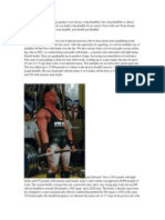 Paul Childress Said That a Big Squatter is Not Always a Big Deadlifter