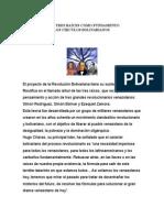 El Árbol de Las Tres Raíces Como Fundamento Ideológico de Los Círculos Bolivarianos