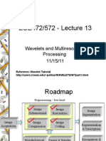 Lecture13 Wavelets