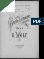 Louis Marie Wolf Gavotte Hollandaise