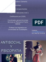 Antisocial y Psicopata LISTA Hasta 25