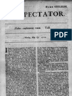 The Spectator, May 12, 1712