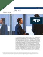 FE GlobalFund Annual Letter