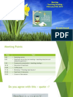 Meeting -Teaching Reading- Ferbruary 24th 2015
