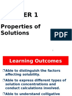 Chapter 1 Properties of Solution