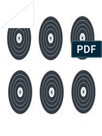 Target 25 - B&W Practise Targets X6 (A3)