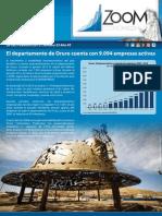 Zoom Departamento de Oruro 2015