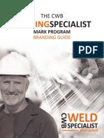 Cwb Weld Specialist Branding Guide