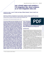 FRA3B Extends Over a Broad Region and Contains a Spontaneous HPV16 Integration Site_ Direct Evidence for the Coincidence of Viral Integration Sites and Fragile Sites