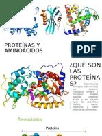 Proteã-nas y Aminoã-cidos (Bioquã-mica) Copiar