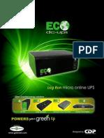 Eco Ups Dc Eu 9-12 y 7.5- 5