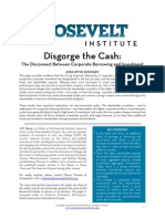 Disgorge the Cash