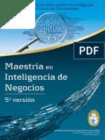 Brochure Inteligencia Negocios
