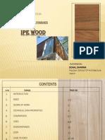 External Finishes-IPE Wood