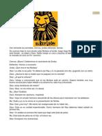 (El Rey León Adaptacion Corta)