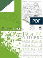Catálogo Ver Ciência 2010