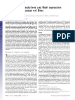 Analysis of P53 Mutations and Their Expression in 56 Colorectal Cancer Cell Lines