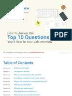 BigInterview Top 10 Questions