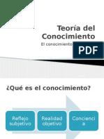 La Teoría Del Conocimiento y Sus Fases