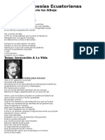 36 Poesías Ecuatorianas (2)