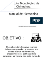 Manual Bienvenida Empresa x