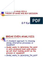 02 Break Even Analysis